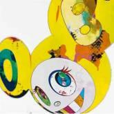 """Takashi Murakami """"Yellow"""""""