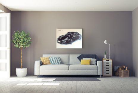 """4000 """"Porsche Schwarz"""""""