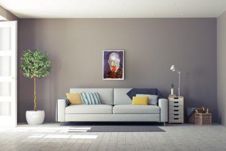 """Armin Mueller-Stahl """"Sigmund Freud Portrait"""""""