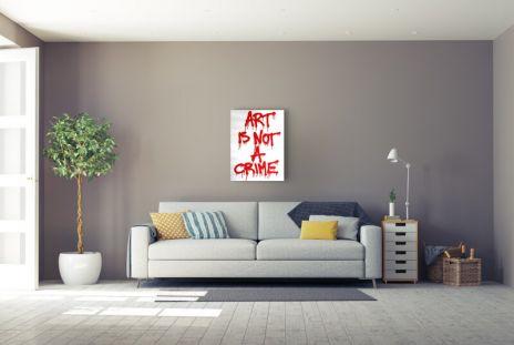 "Mr. Brainwash ""Art is not a crime"""