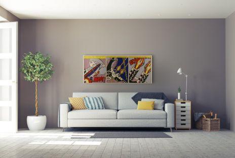 """Roy Lichtenstein """"As I Opened Fire"""""""
