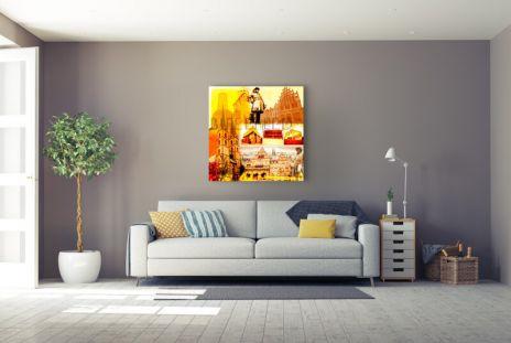 """Fritz Art """"Bielefeld Collage"""""""