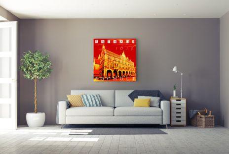 "Fritz Art ""Bocholt Rathaus (Rot)"""