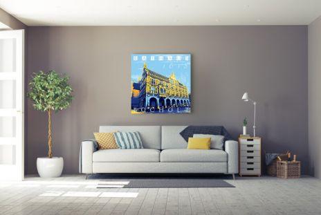 "Fritz Art ""Bocholt Rathaus (Blau)"""