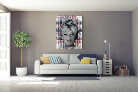 "Devin Miles ""Red Lips – Brigitte Bardot"""