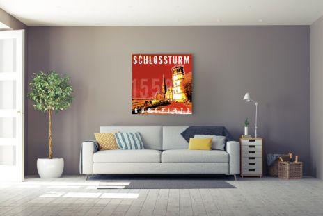 """Fritz Art """"Duesseldorf Schlossturm"""""""