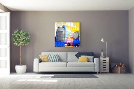 """Fritz Art """"Essen Skyline"""""""