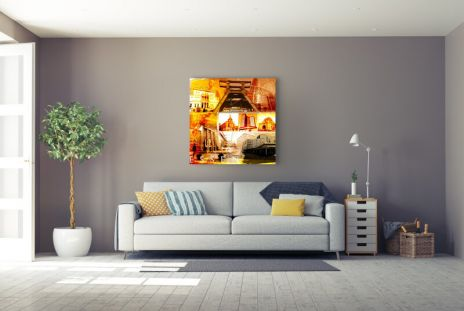 """Fritz Art """"Essen Collage"""""""