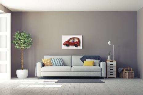 "David Gerstein ""Family Car (Papercut)"""