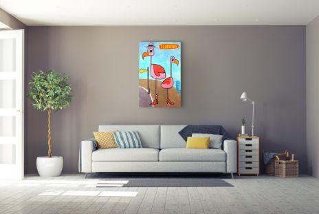 "Jim Avignon ""Flamingos"""