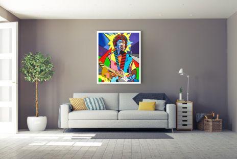 """Martin Sonnleitner """"Jimi Hendrix"""""""
