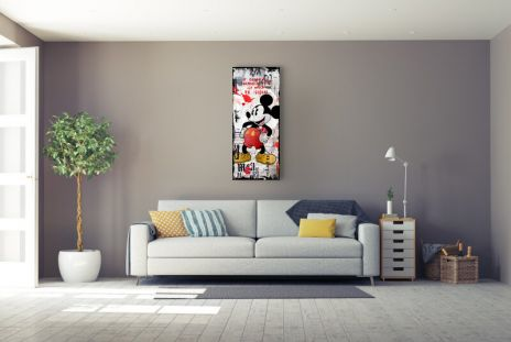 "Micha Baker ""Grafitti Mickey"""
