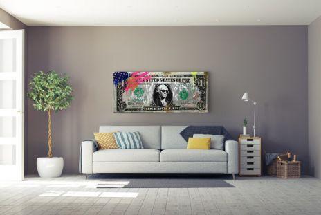 """Michel Friess """"Big Dollar Wave"""""""