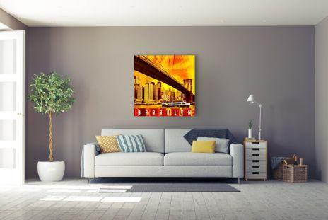 "Fritz Art ""New York Brooklyn Bridge"""