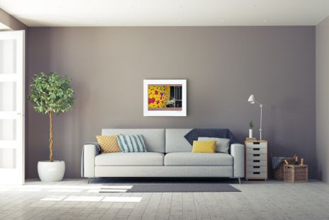 """Christo """"The Wall Nr. IV 1999 """""""
