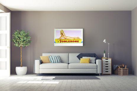 "Mel Ramos ""Toblerone Tess"""