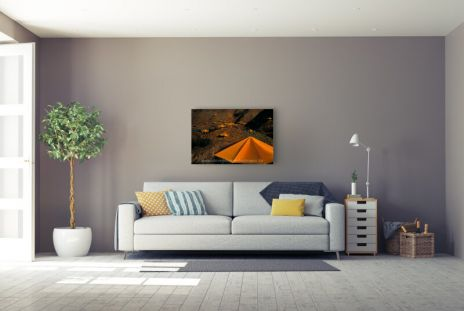 "Christo ""Umbrellas Gelb Nr. 13 (1991)"""