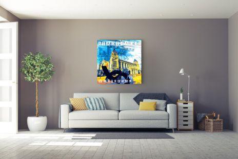 """Fritz Art """"Wuppertal Stadthalle"""""""