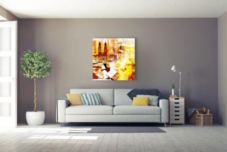 """Fritz Art """"Zuerich Collage1"""""""