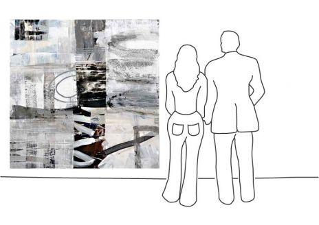 "Ralf Bohnenkamp ""O.T. (180 x 180 cm)"""