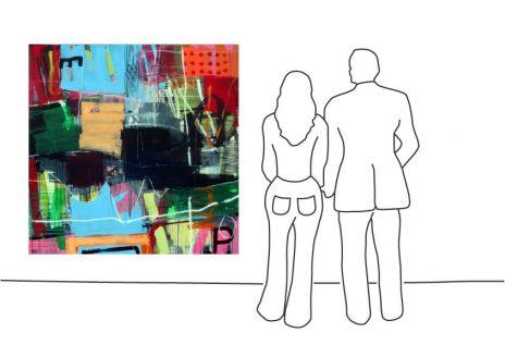 "Ralf Bohnenkamp ""O.T. #38 (160 x 160 cm)"""