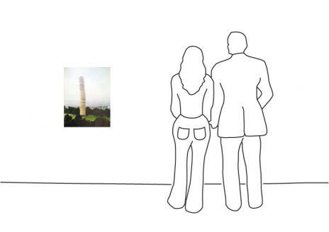 "Christo ""5600 m3 Paket, Kassel, Monuments"""
