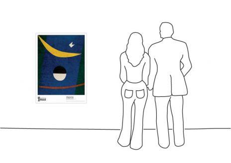 """""""Alfredo Volpi, Bandeira Brasileira, 1958"""""""