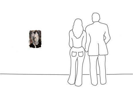 """Armin Mueller-Stahl """"Porträt Willy Brandt"""""""