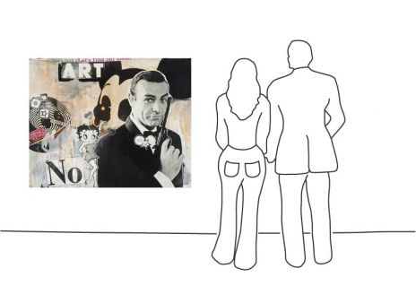 "Jörg Döring ""Art No Bond - Unikat"""