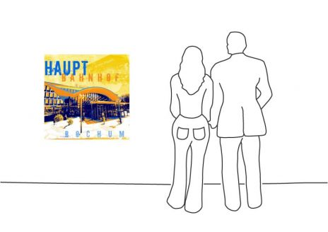 "Fritz Art ""Bochum Hauptbahnhof"""