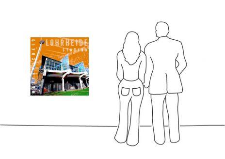 """Fritz Art """"Bochum Lohrheide Stadion"""""""