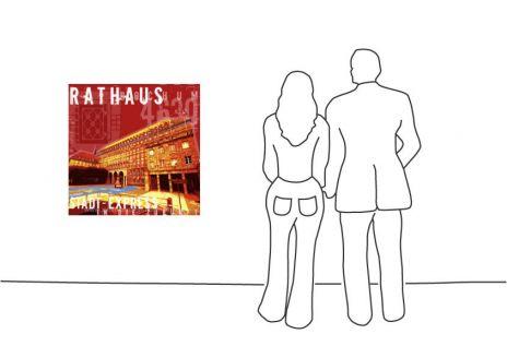 """Fritz Art """"Bochum Rathaus"""""""