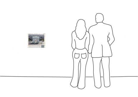 """Christo """"Arc de Triomphe (Project for Paris)"""""""