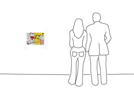 """Roy Lichtenstein """"Composition IV"""""""