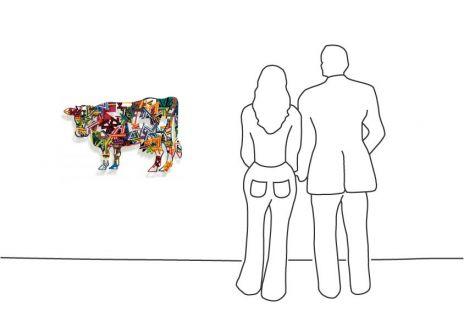 """David Gerstein """"Cow – Constructive"""""""