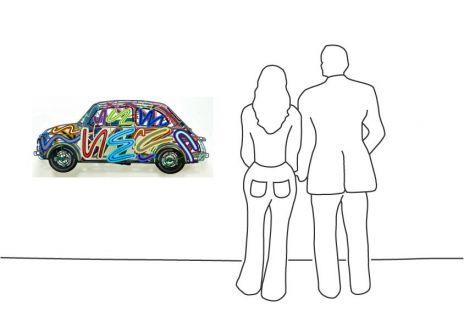 """David Gerstein """"Fiat 500"""""""