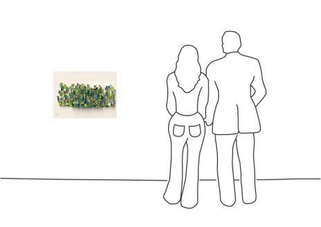 "David Gerstein ""Digital Cactus (Papercut)"""