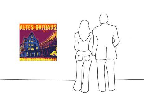 "Fritz Art ""Dortmund Altes Rathaus"""