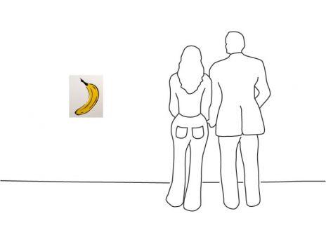 "Thomas Baumgärtel ""Bananen Metamorphose"""