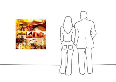 """Fritz Art """"Witten Collage"""""""
