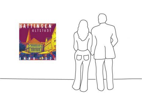 """Fritz Art """"Hattingen Altstadt"""""""