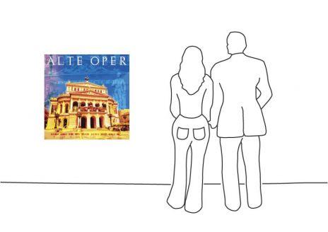 """Fritz Art """"Frankfurt Alte Oper"""""""