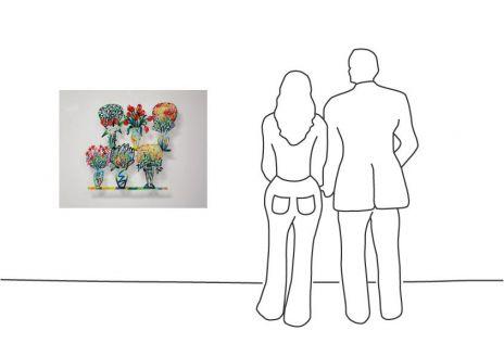 """David Gerstein """"Flower Shop B"""""""