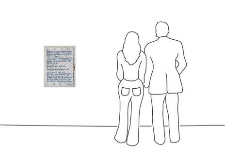 """Günther Uecker """"Friedensgebote VI 2016 (Papier)"""""""