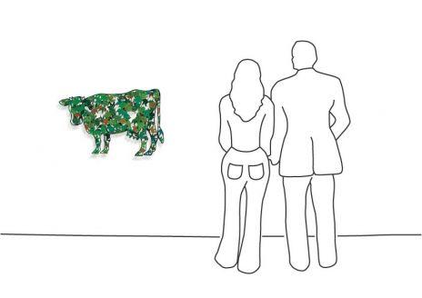 """David Gerstein """"Cow – Green """""""