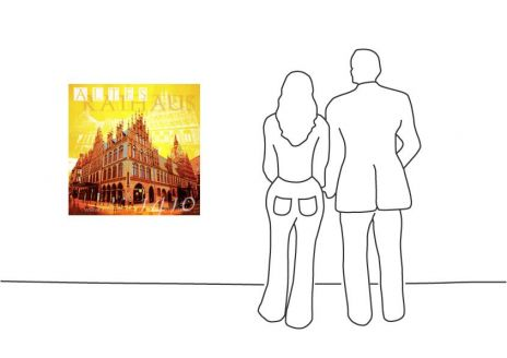"Fritz Art ""Hannover Altes Rathaus"""