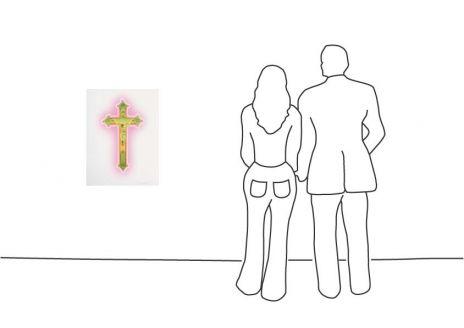 """Stefan Strumbel """"Holy Heimat Cross"""""""