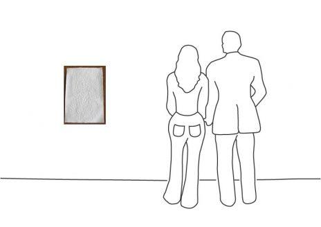 """Günther Uecker """"Interdependenz (Doppelspirale) 2014"""""""