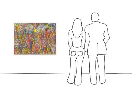"""James Rizzi """"Love in the heart of the City"""""""
