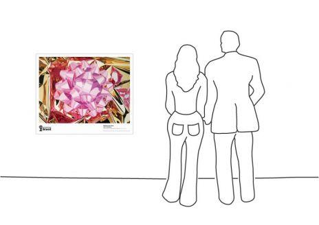 """Jeff Koons Pink Bow, 1995-1997"""